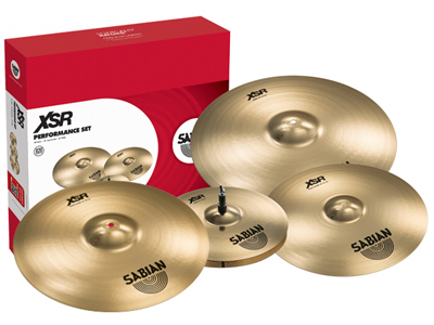 Sabian XSR Cymbal Pack (with FREE 18