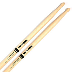 "ProMark Hickory Select Balance Forward 5B / 0.595"" Wood Tip Drumsticks"
