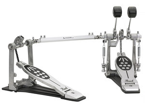 HARDWARE  PEDAL BASS DRUM DOUBLE PEDAL, COMPLETE SET